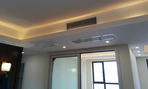 长沙中央空调及客厅系统调试安装v客厅(3)山水图片水墨画背景墙大全新风图片